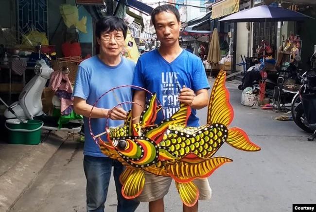 Con cá hóa long cổ truyền (ảnh tư liệu)