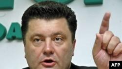 Новий міністр економіки України Петро Порошенко