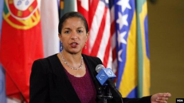 Dubes Amerika untuk PBB, Susan Rice (Foto: Dok).
