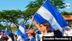 El año 2018 marcó la historia reciente en Nicaragua por las protestas antigubernamentales. Foto Donaldo Hernández, VOA.