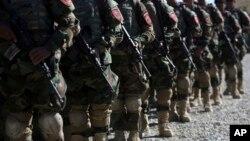 Випускна церемонія в Академії афганських сил спеціального призначення
