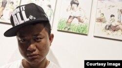 탈북자 출신 랩퍼 강춘혁 씨. 한국 민간단체 북한인권시민연합을 도와 북한의 인권 실상을 알리는 일에 앞장서고 있다.