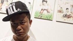 자유를 찾아온 사람들: 그림 그리는 래퍼 강춘혁 (2)