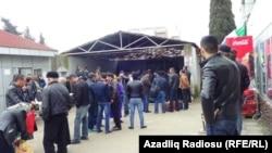 Azərbaycan- İran sərhəddi, Astara gömrük keçid məntəqəsi, Astara rayonu, arxiv foto