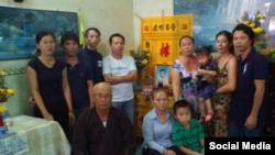 Gia đình của ông Nguyễn Hữu Tấn ở tỉnh Vĩnh Long - Ảnh Facebook Vietnam Advocacy Day