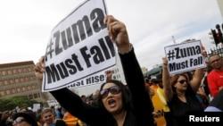 Protestos contra Zuma