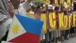2012-05-11 粵語新聞: 菲律賓抗議者就領土爭端舉行反華示威
