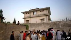 آخرین محل اقامت بن لادن که اسناد سازمان سیا از آن بدست آمد.