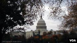 Pogled na Kapitol hil, u Vašingtonu