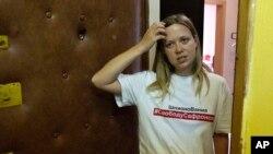 """მარია ჟოლობოვა, """"პროექტის"""" ჟურნალისტი."""