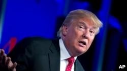 Donald Trump, candidat à l'investiture du parti républicain (AP Foto/José Luis Magaña)