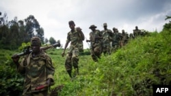 M23 rebels in eastern Democratic Republic of Congo (2012 photo)