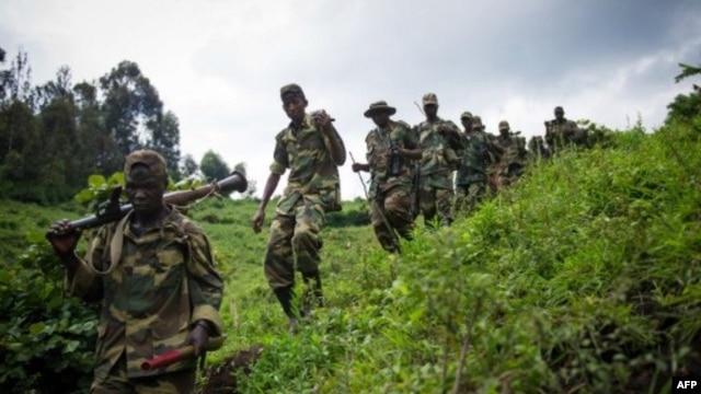 M23 rebels in eastern Democratic Republic of Congo (2012 photo)