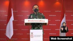 Kepala Pusat Penerangan (Kapuspen) TNI Mayjen Prantara Santosa. (Foto: VOA)