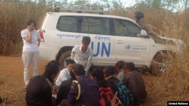 Người Thượng từ Tây Nguyên Việt Nam vượt biên giới vào Campuchia ẩn náu trong các khu rừng rậm ở đông bắc Campuchia vì sợ nhà chức trách Campuchia sẽ trục xuất họ. (Ảnh: Cao Ủy Nhân quyền Liên hiệp quốc UNHCR )