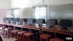 A computer lab at PrIme College in Kano, Nigeria. (VOA / I. Ahmed)