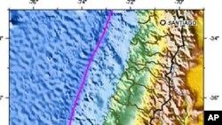 چلی کے زلزلے نے شہروں کو اپنی جگہ سے کھسکا دیا