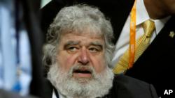 미국의 척 블레이저 전 피파(FIFA) 집행위원. (자료사진)