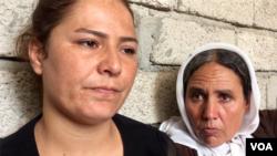 Pripadnice manjine Jazidi