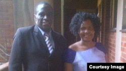 Prophet Midian Dube of Foundation of Life Ministries International with his wife. (Courtesy Photo)