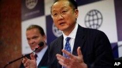 El presidente del Banco Mundial, Jim Yong Kim, habló en la Universidad de Georgetwon, en Washington.
