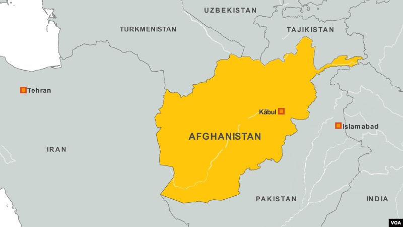 14 Killed in Attacks in Afghanistan KABUL MAP