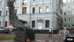 Монумент жертвам Беслана в Москве