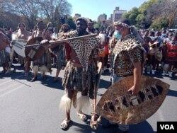 Abanye abavelelise iNdlovukazi eJohannesburg. (Photo: Thuso Khumalo)