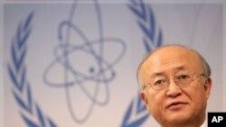 國際原子能機構總幹事天野之彌。(資料圖片)