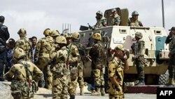 Egipatski vojnici u predgrađu Kaira