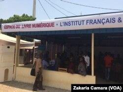 L'institut français à Conakry, le 23 avril 2017. (VOA/Zakaria Camara)