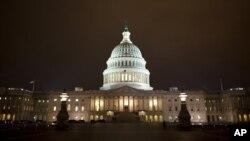 US Capitol building, Washington, D.C., Jan. 1, 2013.