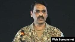 ڈائریکٹر جنرل آئی ایس پی آر آصف غفور ۔ فائل فوٹو