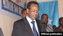PM Abdi Farah Shirdon didesak untuk mundur karena dinilai tidak efektif menjalankan tugasnya sebagai PM Somalia (foto: dok).