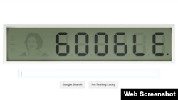 "Today's Google doodle celebrates Shakuntala Devi, the ""human calculator."""