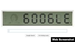 "Today's Google doodle celebrates Shakuntala Devi, the ""human calculator."""