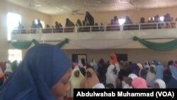 Wani taron mata a jihar Bauchi a lokacin bikin ranar Hijab ta Duniya