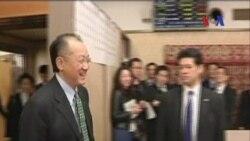 Jim Yong Kim Terpilih Sebagai Presiden Bank Dunia - Laporan VOA 17 April 2012