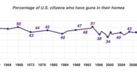 US gun ownership