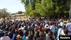 'Yan gudun hijira a Yola jihar Adamawa