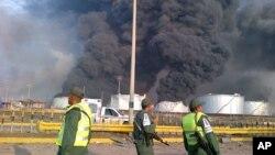 Пожар на НПЗ пытались погасить более трех дней (архивное фото)