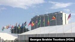 Le Sofitel Hotel Ivoire accueille ce 5e sommet à Abidjan, le 27 novembre 2017. (VOA/Georges Ibrahim Tounkara)