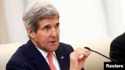 FILE - U.S. Secretary of State John Kerry in Beijing Feb. 14, 2014.