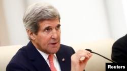 ທ່ານ John Kerry ລັດຖະມົນຕີຕ່າງປະເທດ ສະຫະລັດ