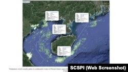 """Báo cáo của SCSPI đưa ra dữ liệu về hành động """"xâm nhập lãnh hải Trung Quốc"""" của tàu cá Việt Nam."""