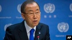 Sekjen PBB Ban Ki-moon berupaya membuka akses bagi kalangan difabel di seluruh dunia (foto: dok).