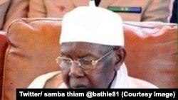 Le chef de la confrérie musulmane des tidianes, une des plus importantes du Sénégal, Serigne Abdou Aziz Sy, est décédé, 22 septembre 2017. (Twitter/ samba thiam @bathie81 )