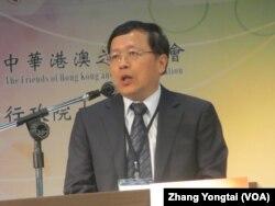台湾陆委会副主委张天钦(美国之音张永泰拍摄)