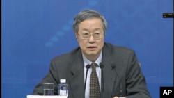中国中央银行行长周小川(资料照)
