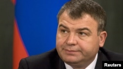 Бывший министр обороны России Анатолий Сердюков (архивное фото)